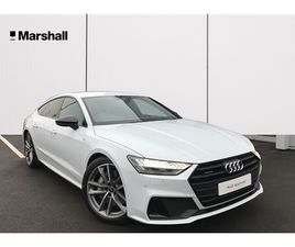 USED 2021 AUDI A7 50 TFSI E QUATTRO BLACK EDITION 5DR S TRONIC HATCHBACK 4,000 MILES IN WH