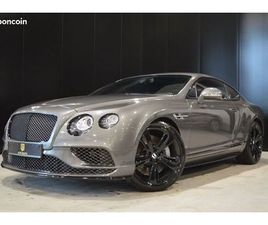 BENTLEY CONTINENTAL GT SPEED BLACK EDITION W12 642 CH PACK CARBONNE