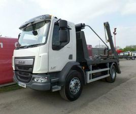 DAF TRUCKS LF SKIP LOADER LORRY WITH VDL EQUIPMENT & SHEETING SYSTEM