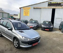 PEUGEOT 206 SW 2.0HDI 90CH AN.2002