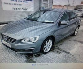 VOLVO S60, 2017***PRICE REDUCED*** FOR SALE IN TIPPERARY FOR €19006 ON DONEDEAL