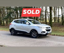 HYUNDAI IX35 COMFORT 1.7 DIESEL FOR SALE IN KILDARE FOR €10,950 ON DONEDEAL