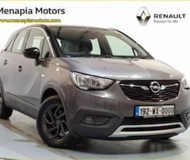 OPEL CROSSLAND X 120YR 1.5T 5DR PRICE INCLUDES M FOR SALE IN WEXFORD FOR €17595 ON DONEDEA