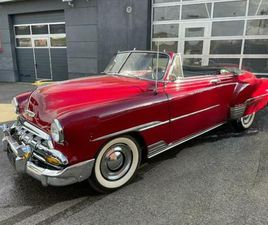 ② CHEVROLET BELL AIR CONVERTIBEL 1952 - CHEVROLET