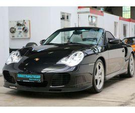 PORSCHE 911 TURBO 996 CABRIO SCHALTER*ERSTLACK*
