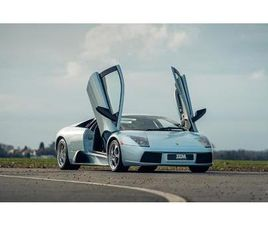 LAMBORGHINI MURCIELAGO 6.2 V12 6 SPEED MANUAL FINISHED IN STUNNING AZZURRO AQUARIUS METALL