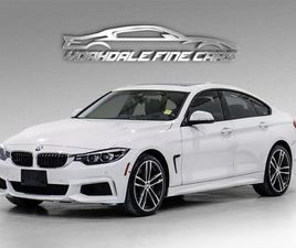 USED 2019 BMW 4 SERIES 440I XDRIVE GRAN COUPE M SPORT, 360 CAM, HUD, LOADED
