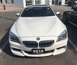 2016 BMW 650I XDRIVE GRAN COUPE M SPORT PACKAGE   CARS & TRUCKS   MISSISSAUGA / PEEL REGIO