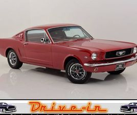 FORD MUSTANG FASTBACK 2+2 / PONY AUSSTATTUNG - COUPE