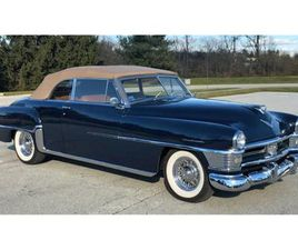 FOR SALE: 1951 CHRYSLER NEW YORKER IN CADILLAC, MICHIGAN