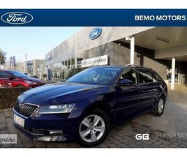 SKODA SUPERB III DEALER, VAT 23%, AMBITION, GWARANCJA, KOMBI, SALON PL