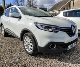 USED 2016 RENAULT KADJAR DYNAMIQUE NAV TCE NOT SPECIFIED 56,337 MILES IN WHITE FOR SALE |