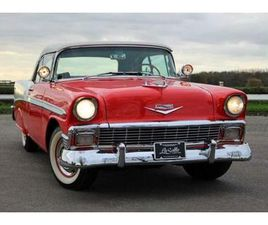 ② 1956 CHEVROLET BEL AIR CONVERTIBLE - TOPSTAAT - OLDTIMERS & ANCÊTRES