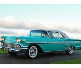 ② 1958 CHEVROLET IMPALA 348 CONVERTIBLE - TROPICAL TURQUOISE - OLDTIMERS & ANCÊTRES