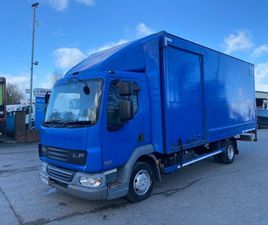 08 DAF LF 45 160 20FT BOX WITH TAIL LIFT FOR SALE IN ARMAGH FOR €1 ON DONEDEAL