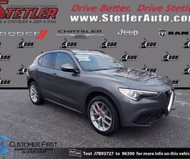 GRAY COLOR 2018 ALFA ROMEO STELVIO TI SPORT FOR SALE IN YORK, PA 17404. VIN IS ZASFAKNN2J7