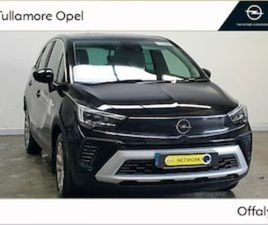 OPEL CROSSLAND X MY21-ELITE-1.2 83P FOR SALE IN OFFALY FOR €25950 ON DONEDEAL