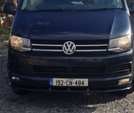 192 VW TRANSPORTER T6 150BHP 6 SPEED €24500+ VAT FOR SALE IN LEITRIM FOR €24,500 ON DONEDE