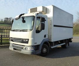 2013(DEC) DAF 45.160 FRIDGE WITH MEAT RAILS,HOOKS, FOR SALE IN TYRONE FOR £12,750 ON DONED