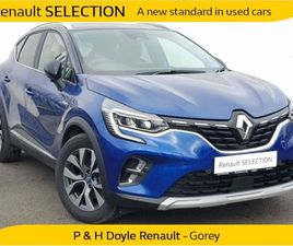 RENAULT CAPTUR S-EDITION PHEV 160 AUTOMATIC FOR SALE IN WEXFORD FOR €34,050 ON DONEDEAL