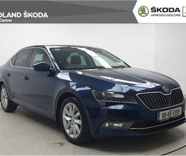 SKODA SUPERB AMBITION 1.6TDI 120BHP FOR SALE IN CARLOW FOR €17,975 ON DONEDEAL