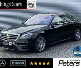 MERCEDES-BENZ S 350 D AMG 4M MEMORY/DISTRONIC+/360°/PANORAMA