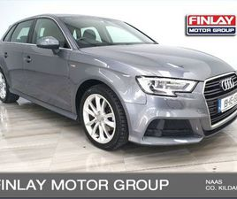 AUDI A3 SPORTBACK 30 TDI S LINE HALF LEATHER REAR FOR SALE IN KILDARE FOR €27,950 ON DONED
