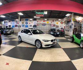 USED 2017 BMW 3 SERIES 320I X DRIVE LUXURY NAVI PKG AUT0 LEATHER SUNROOF BACK UP CAM83K