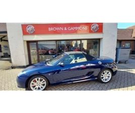 USED 2010 MG MGTF TF 135 CONVERTIBLE 63,649 MILES IN BLUE FOR SALE   CARSITE