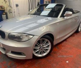 USED 2012 BMW 1 SERIES 120D M SPORT MINT CAR ELECTRIC ROOF ONLY 77K!! CONVERTIBLE 77,000 M