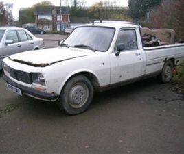 USED 1990 PEUGEOT 504 2.3 D GL PICK UP NOT SPECIFIED 105,316 MILES IN WHITE FOR SALE | CAR