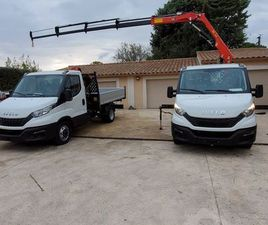 IVECO DAILY 35C14 + GRUE HC 43 A4