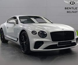 BENTLEY CONTINENTAL 4.0 V8 GT MULLINER AUTO 4WD (S/S) 2DR