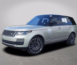 2019 LAND ROVER RANGE ROVER SUPERCHARGED AUTOBIOGRAPHY