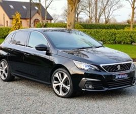 USED 2018 PEUGEOT 308 GT LINE BLUEHDI S/S HATCHBACK 26,469 MILES IN BLACK FOR SALE   CARSI