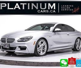 USED 2017 BMW 6 SERIES 650I XDRIVE, COUPE, MSPORT, DRIVING ASSITANCE, 360