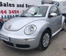 06 VW BEETLE 1.4I LOW MILES NEW NCT FOR SALE IN DUBLIN FOR €2750 ON DONEDEAL