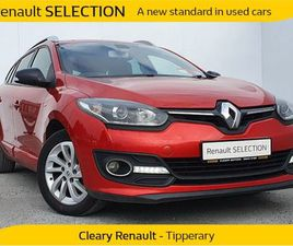RENAULT GRAND MEGANE LIMITED 1.5 DCI 9 FOR SALE IN TIPPERARY FOR €10,000 ON DONEDEAL