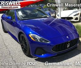BRAND NEW 2019 MASERATI GRANTURISMO SPORT FOR SALE IN GERMANTOWN, MD 20874. VIN IS ZAM45VM