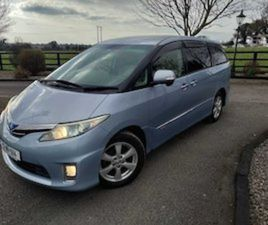 TOYOTA ESTIMA SELF CHARGING HYBRID 7 SEATER FOR SALE IN MEATH FOR €18950 ON DONEDEAL