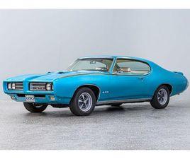 FOR SALE: 1969 PONTIAC GTO IN CONCORD, NORTH CAROLINA