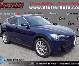 BLUE COLOR 2018 ALFA ROMEO STELVIO TI FOR SALE IN YORK, PA 17404. VIN IS ZASFAKBN9J7B71048