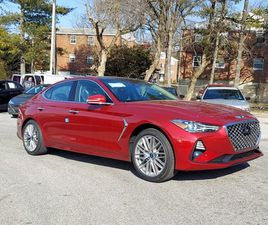 BRAND NEW RED COLOR 2021 GENESIS G70 FOR SALE IN SPRINGFIELD, PA 19064. VIN IS KMTG34LAXMU
