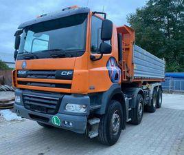 DAF CF 85.460 8X4 BORDMATIK EURO 5