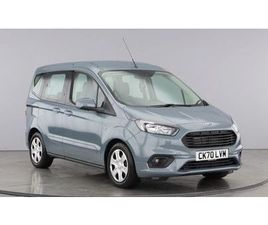 FORD TOURNEO COURIER ZETEC TDCI (STAY SAFE, CLICK AND COLLECT) 1.5 5DR