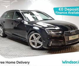 AUDI A4 AVANT S LINE TDI 150 START/STOP FOR SALE IN DUBLIN FOR €23,995 ON DONEDEAL