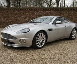ASTON MARTIN VANQUISH V12 ONLY 49.752 KMS FROM NEW! FAMOUS 1ST OWNER, EU CAR, KNOWN HISTOR