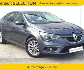 RENAULT MEGANE 1.5DCI IV GRAND COUPE PLAY BLUE FOR SALE IN CARLOW FOR €21,200 ON DONEDEAL