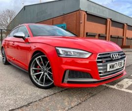 USED 2017 AUDI S5 S5 SPORTBACK TFSI QUATTRO OVER £7000 WORTH OF EXTRAS HATCHBACK 58,487 M