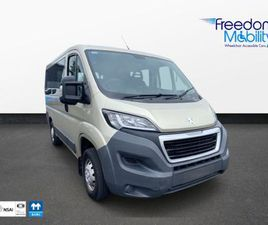 PEUGEOT BOXER WHEELCHAIR ACCESSIBLE 333 HDI 110 L FOR SALE IN MAYO FOR €24,995 ON DONEDEAL